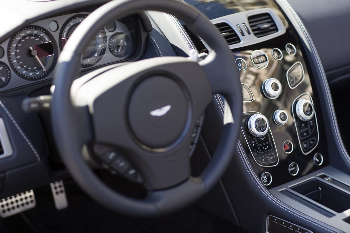 aston martin db9 interior luxury blog detail