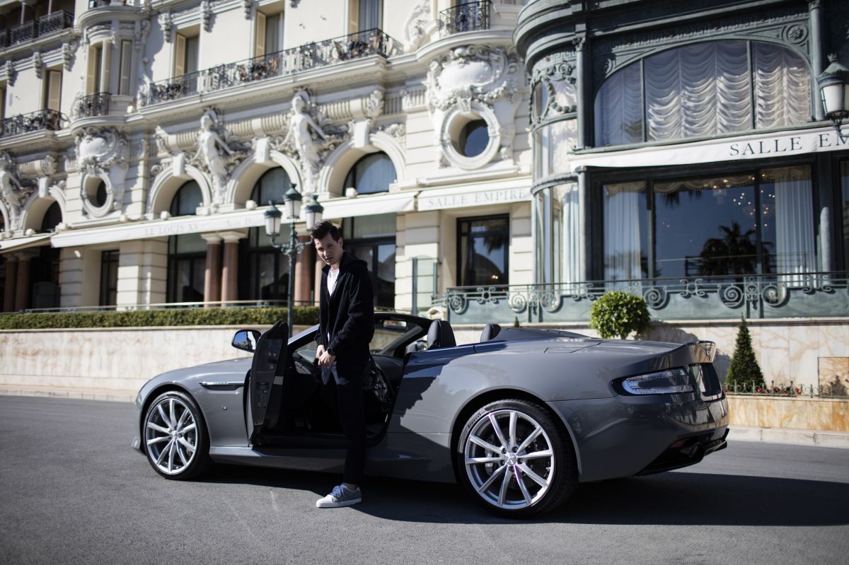 aston martin db9 monaco luxury lifestyle blog tom claeren