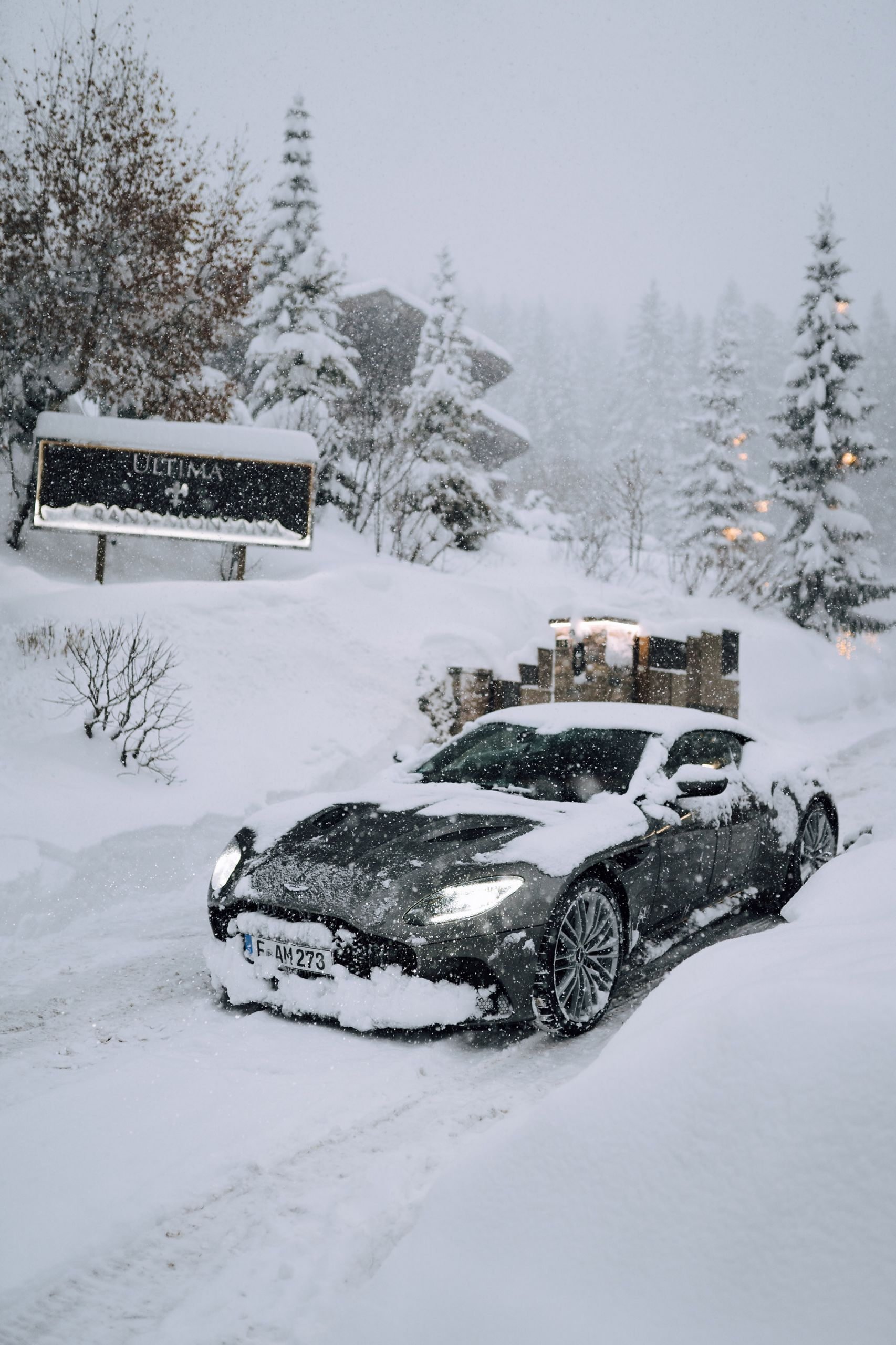 aston martin dbs ultima collection crans montana