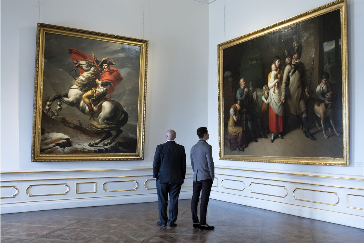 belvedere museum palace art collection interior architecture paintings