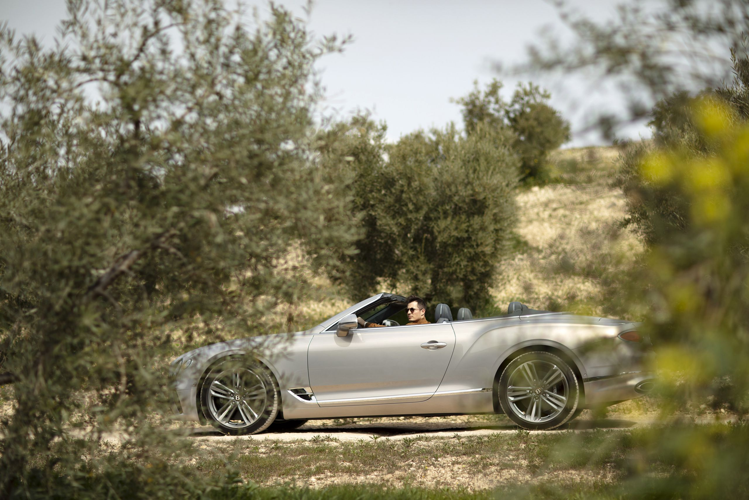 bentley continental gtc drive