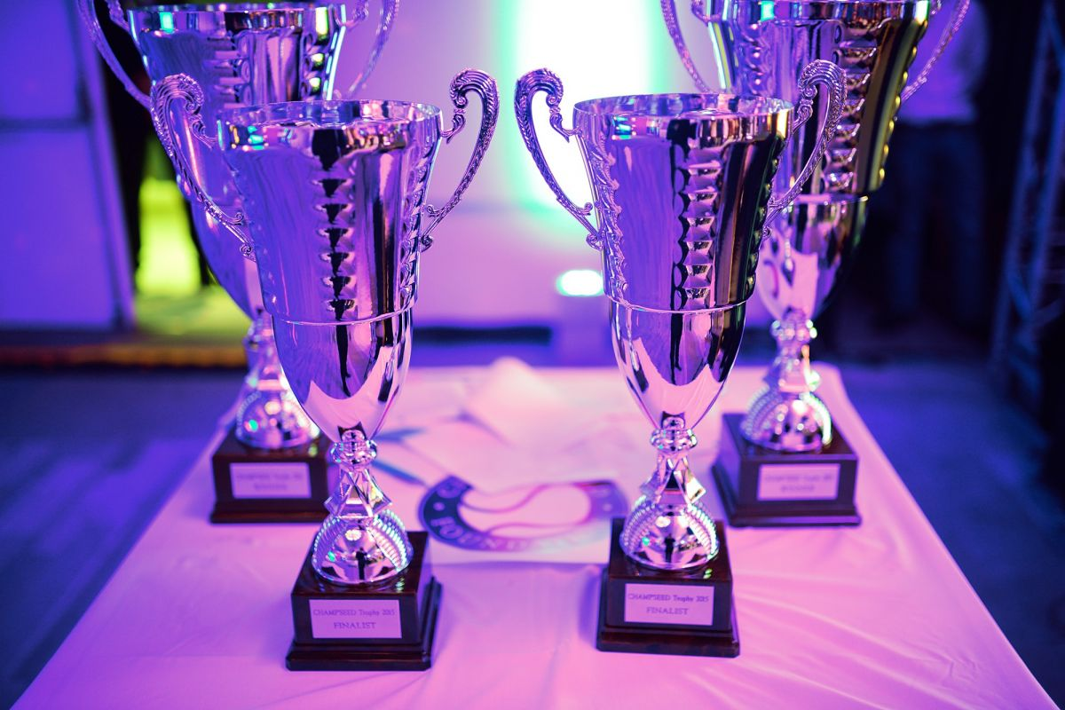 Champseed foundation trophees