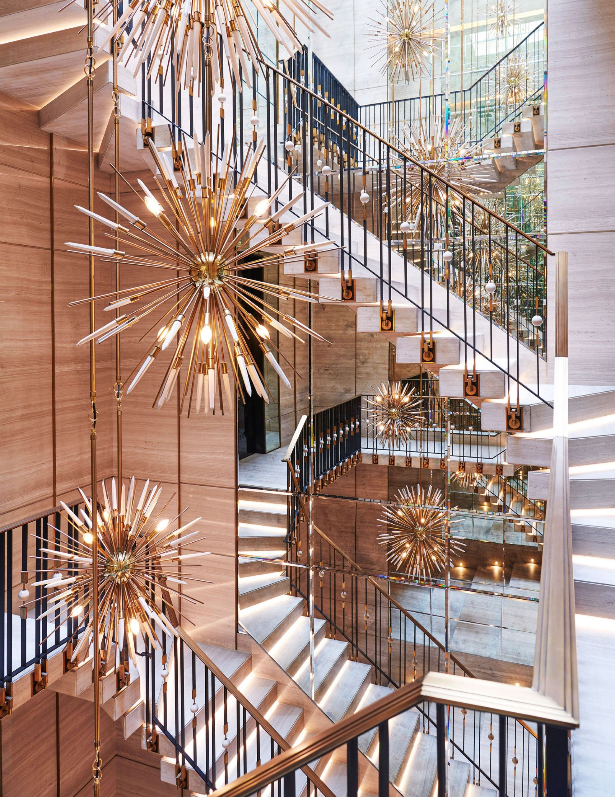 chandelier luxury interior design rafauli ferris drake house