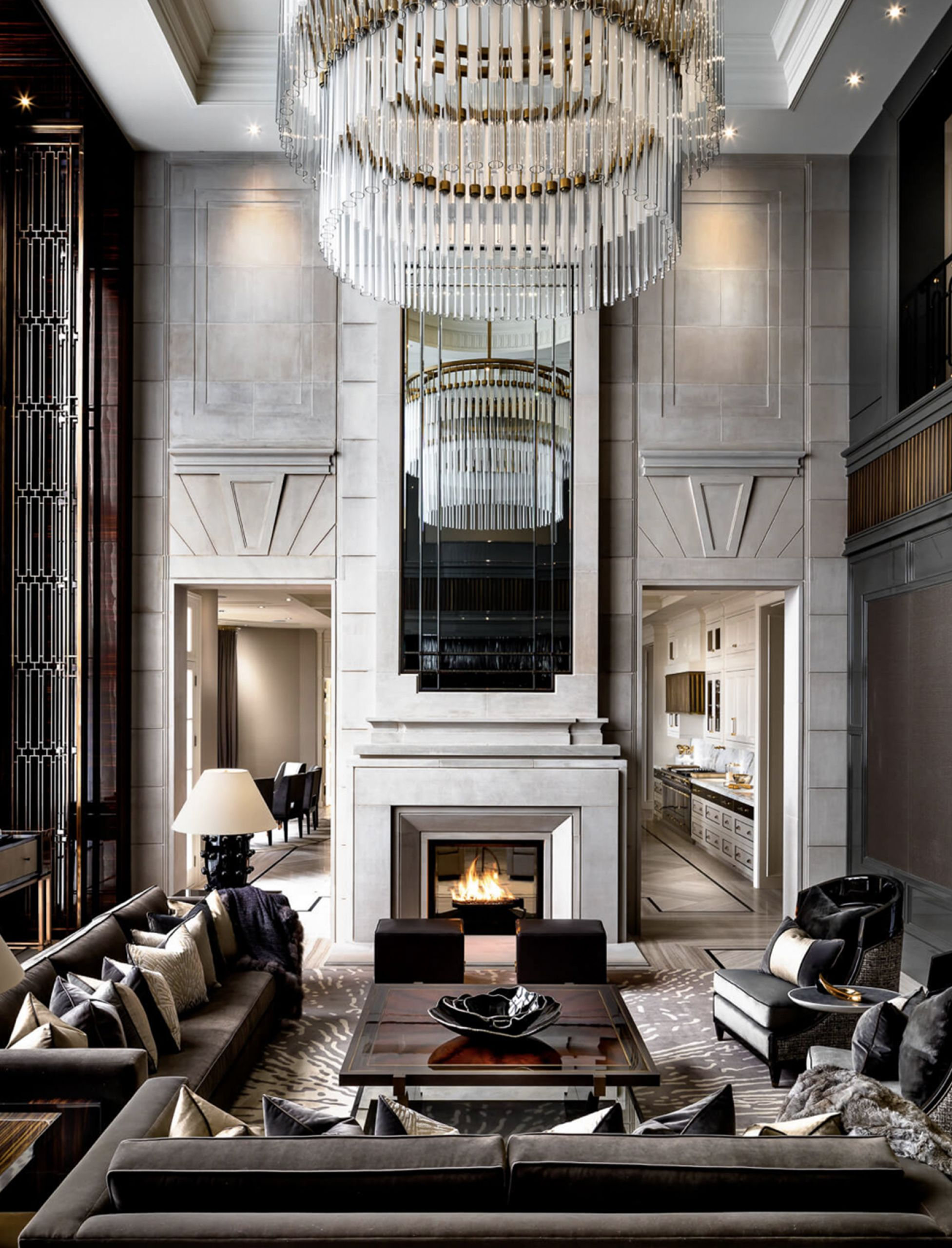 chandelier luxury interior design rafauli ferris
