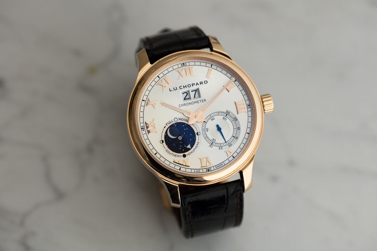 chopard L.U.C Lunar Big Date in 18K rose gold
