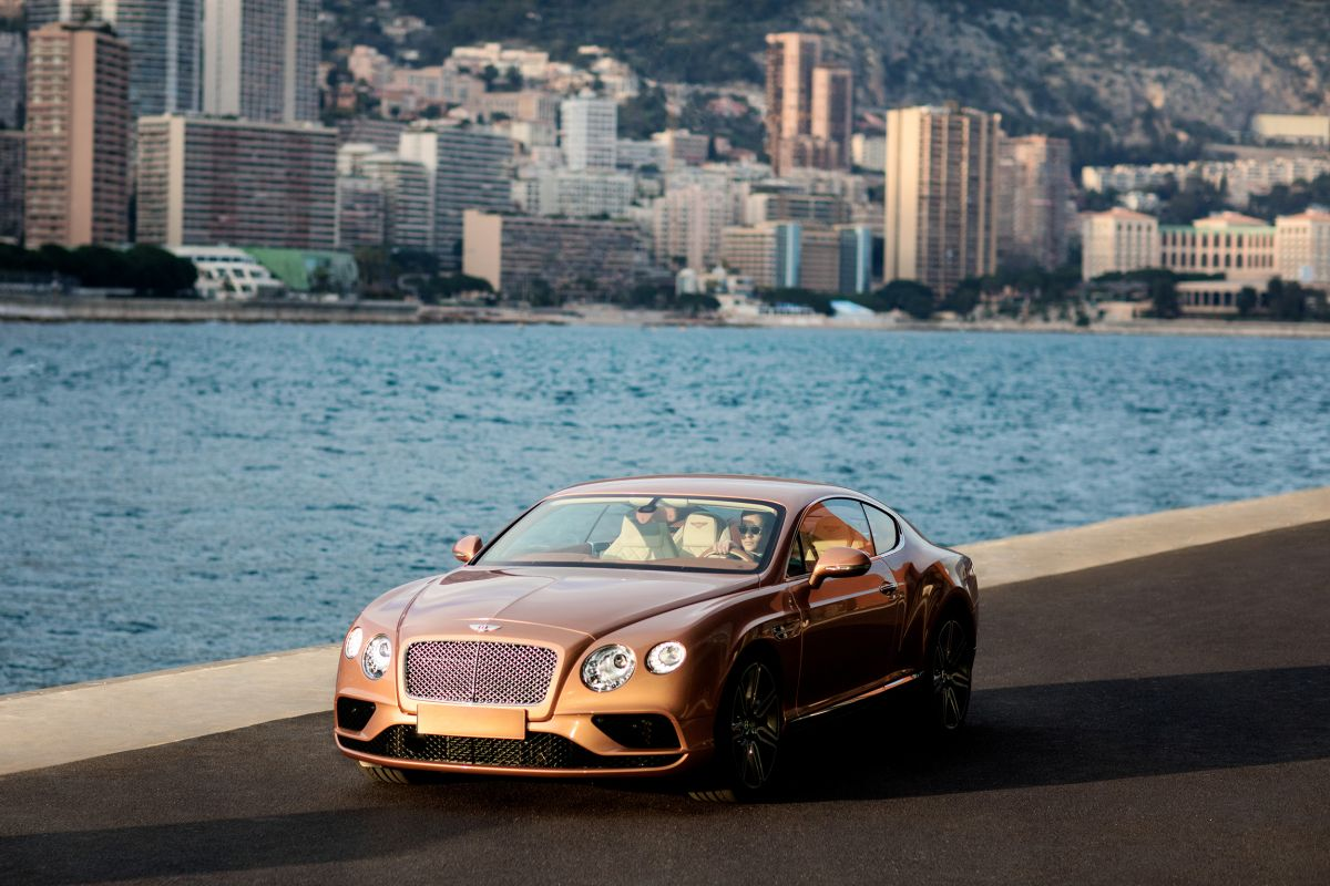 driving continental gt V8 monaco lifestyle