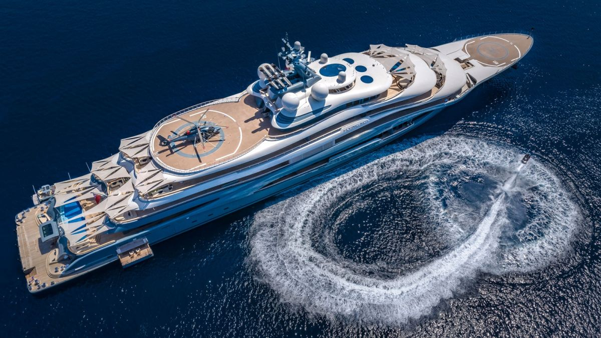 flying fox largest yacht charter in the world superyacht