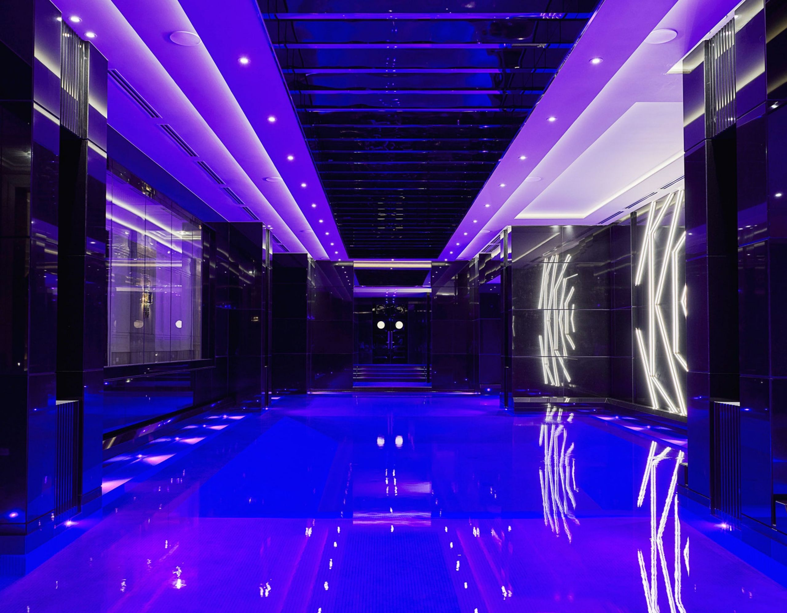 indoor pool luxury house drake toronto design rafauli