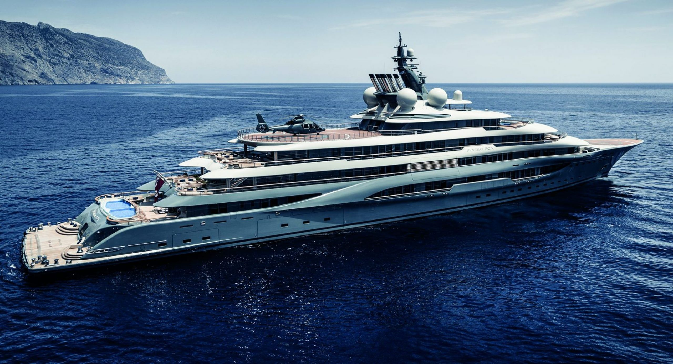 largest yacht charter in the world
