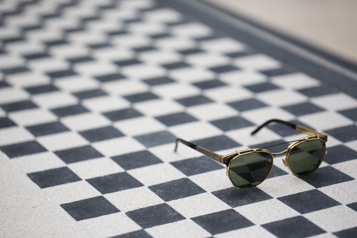 leisure society Oxford luxury eyewear detail hd gold