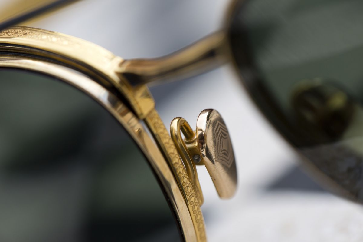 leisure society Oxford Sunglasses detail hd gold