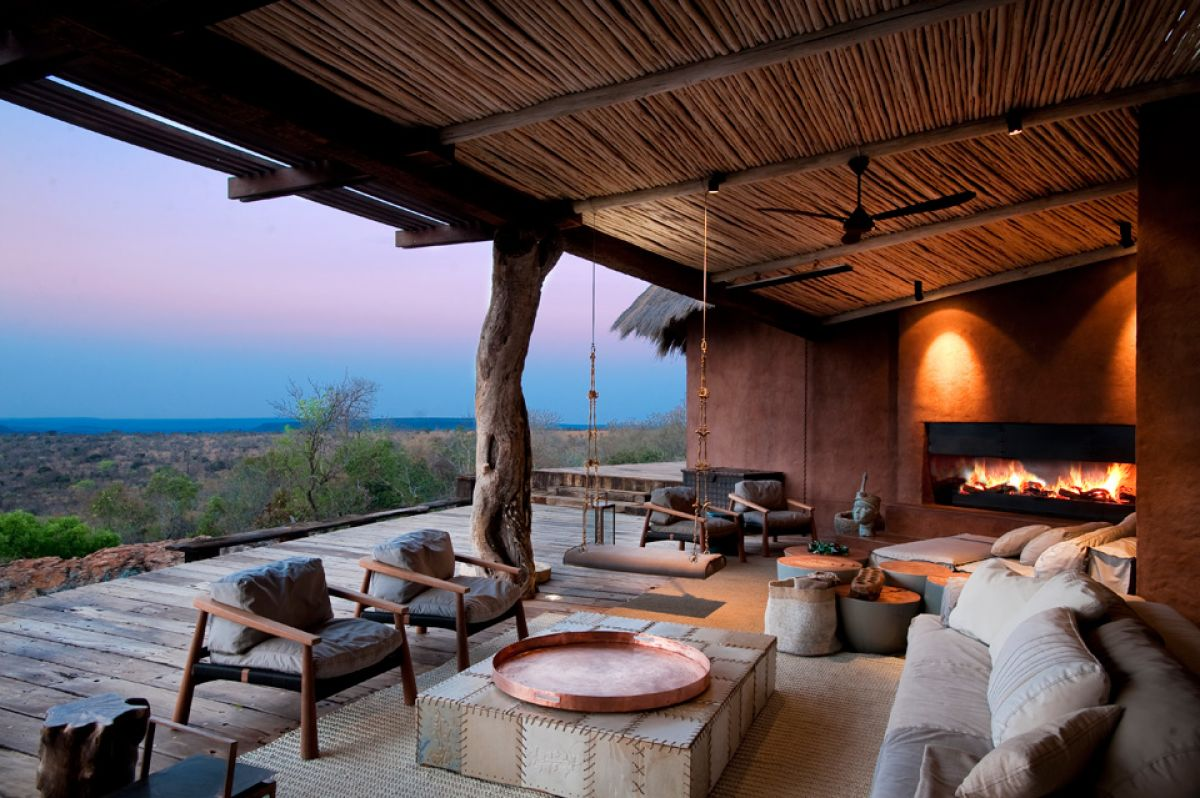 leobo private villa luxury safari game africa