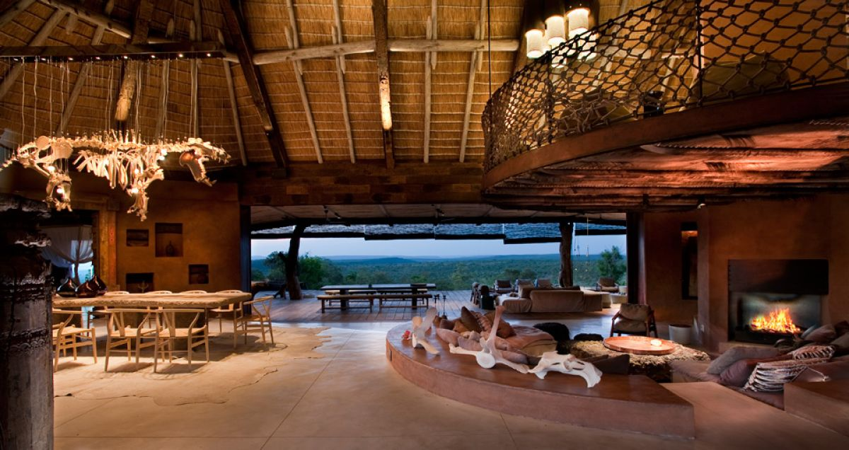 luxury lodge villa africa leobo private reserve