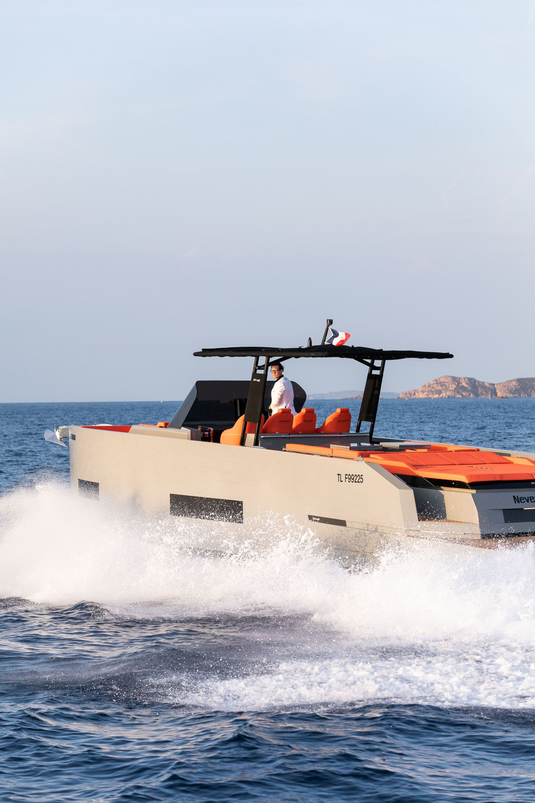 Luxury Tender yacht De Antonio