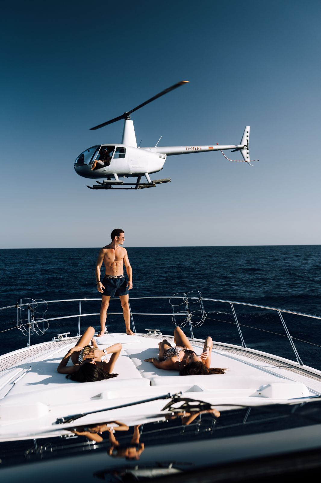 Luxury Yacht Helicopter Transfer