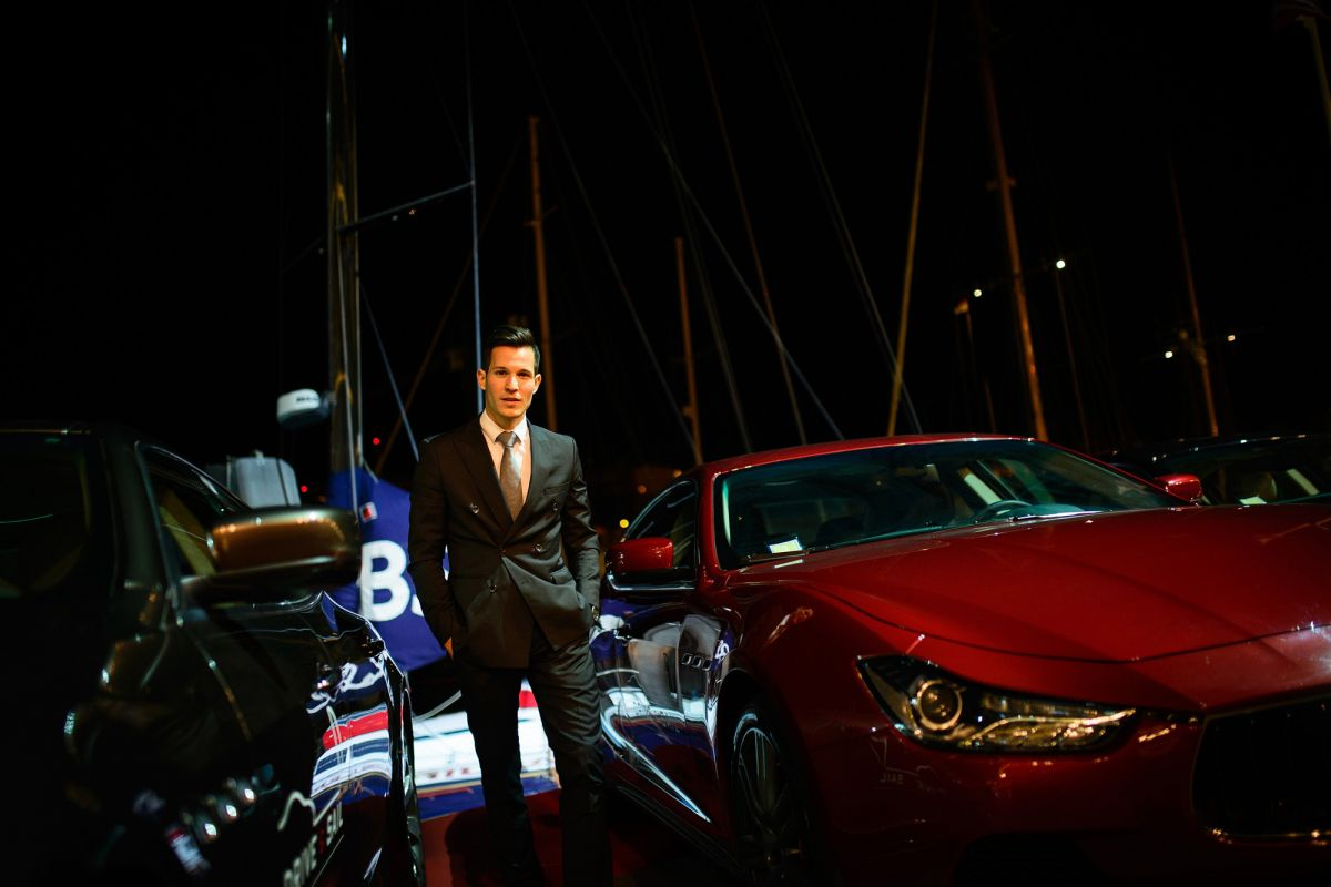 maserati drive and sail monaco  tom claeren style