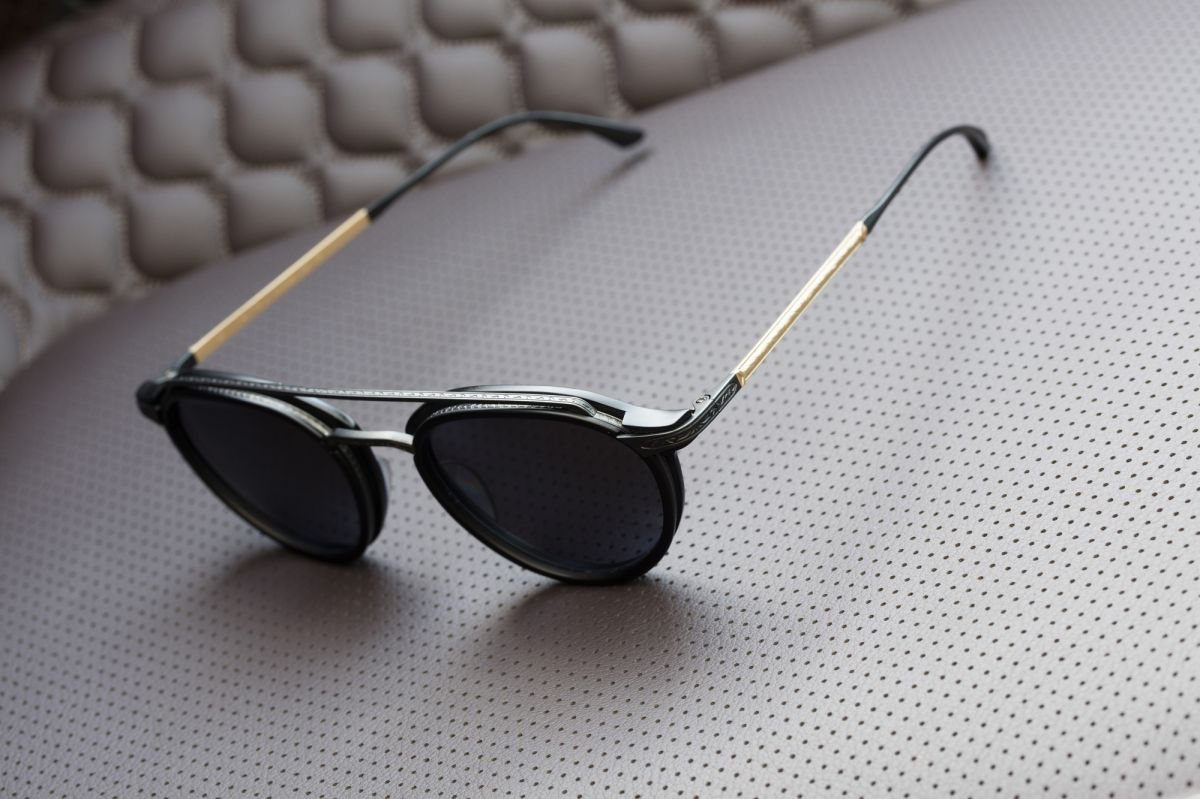 masunaga luxury eyewear solid gold