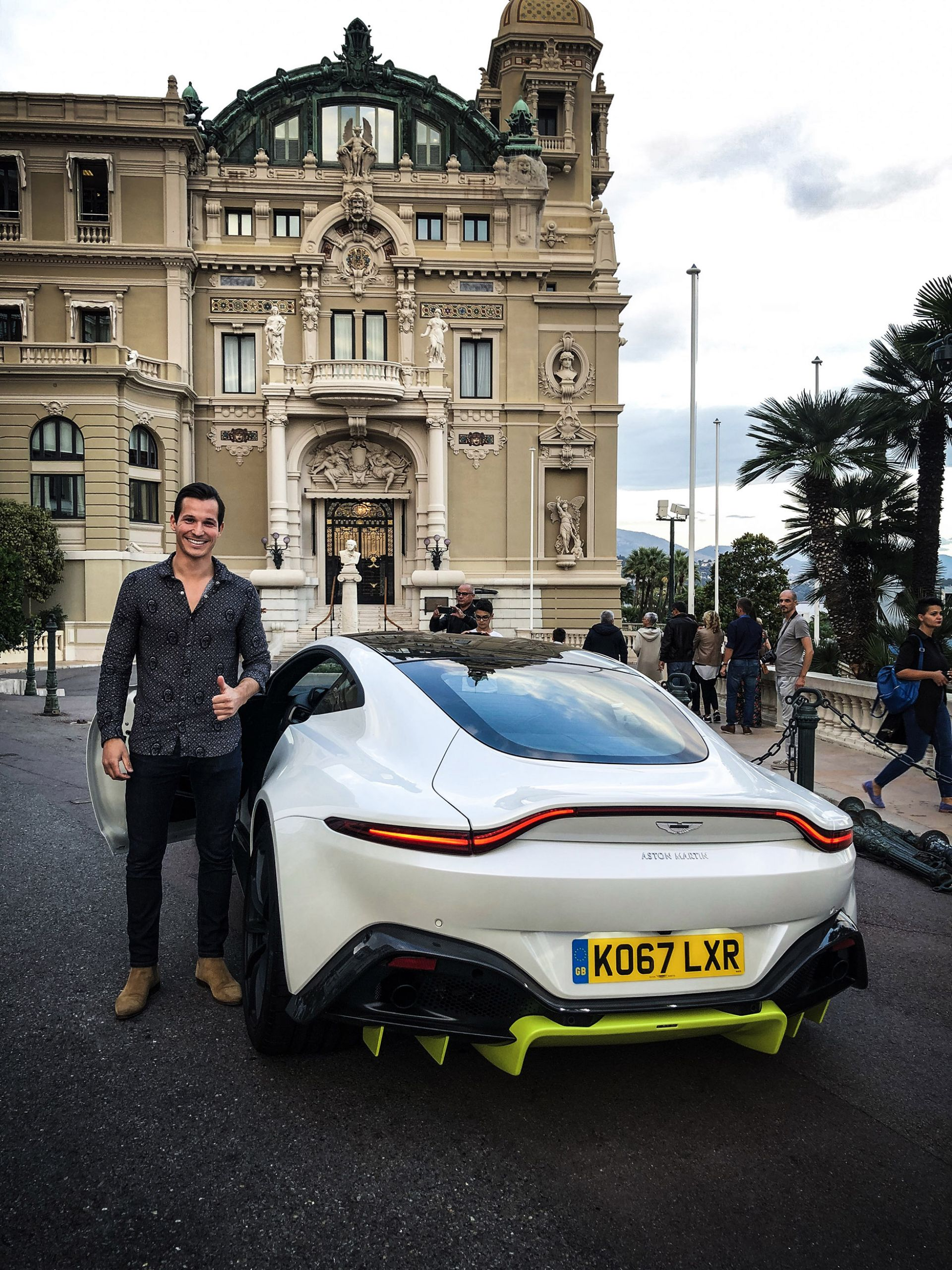 monaco influencer awards tom claeren aston martin