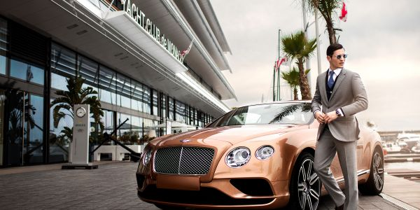 MONTE-CARLO CRUISE IN<br><b>CONTINENTAL GT</b>