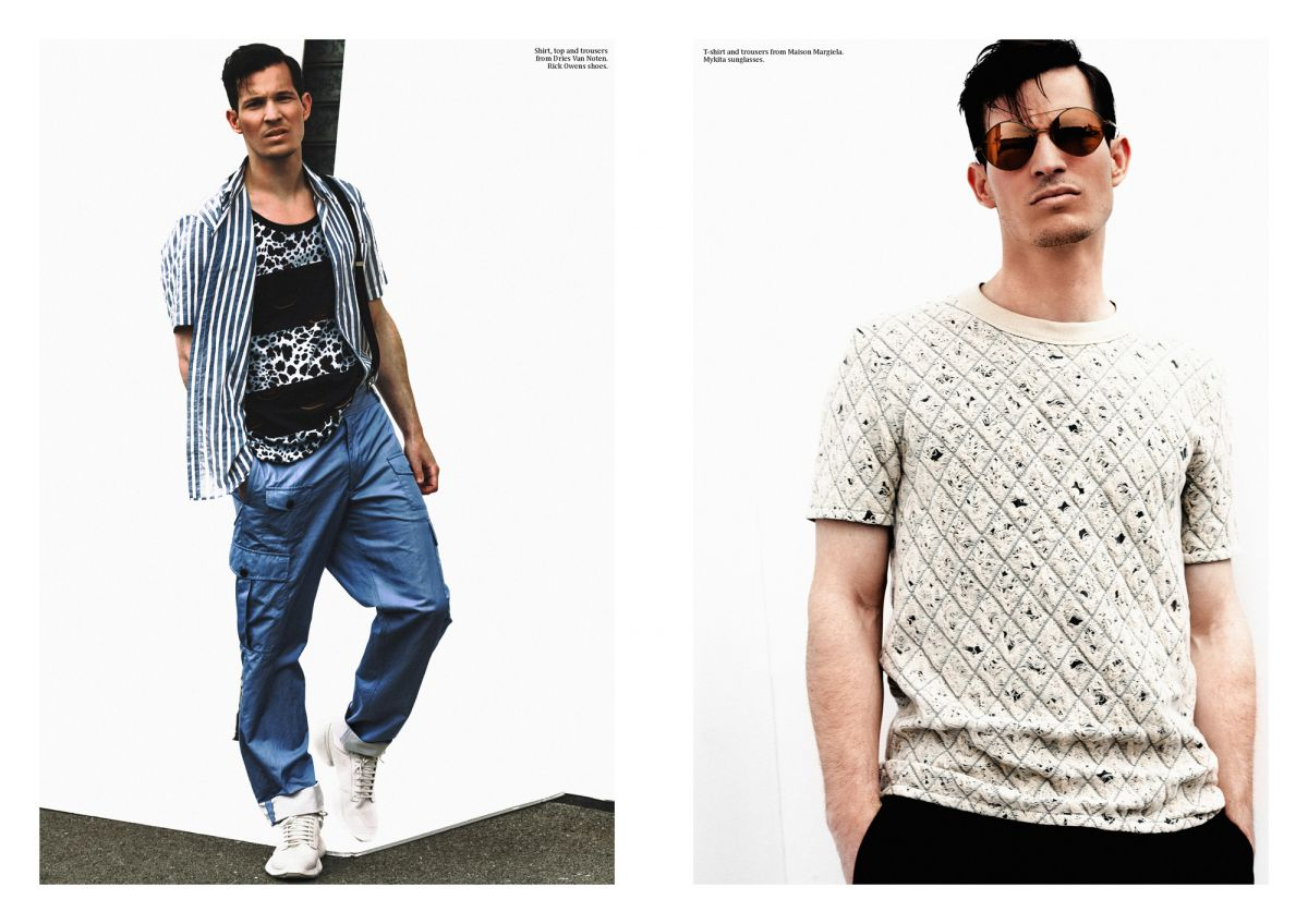 projecteurs magazine tom claeren editorial portrait fashion