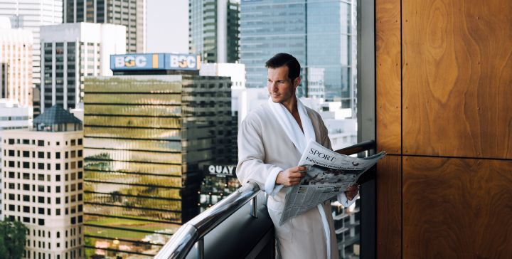 QUARANTINED AT THE<br><b>RITZ-CARLTON SUITE IN PERTH?</b>