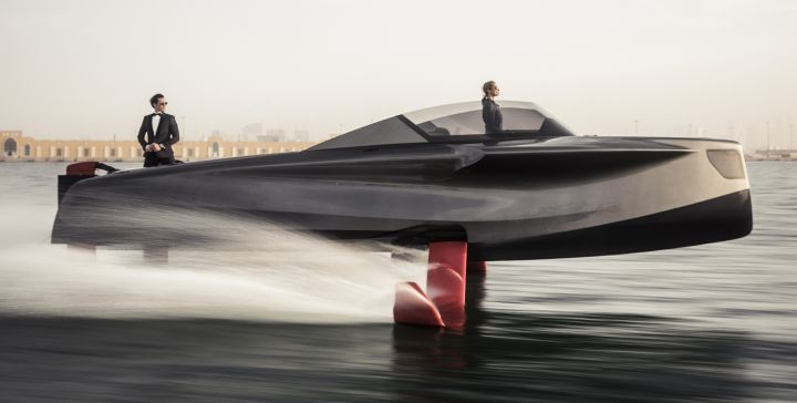 THE FLYING YACHT<b><br>A NEW ERA</b>