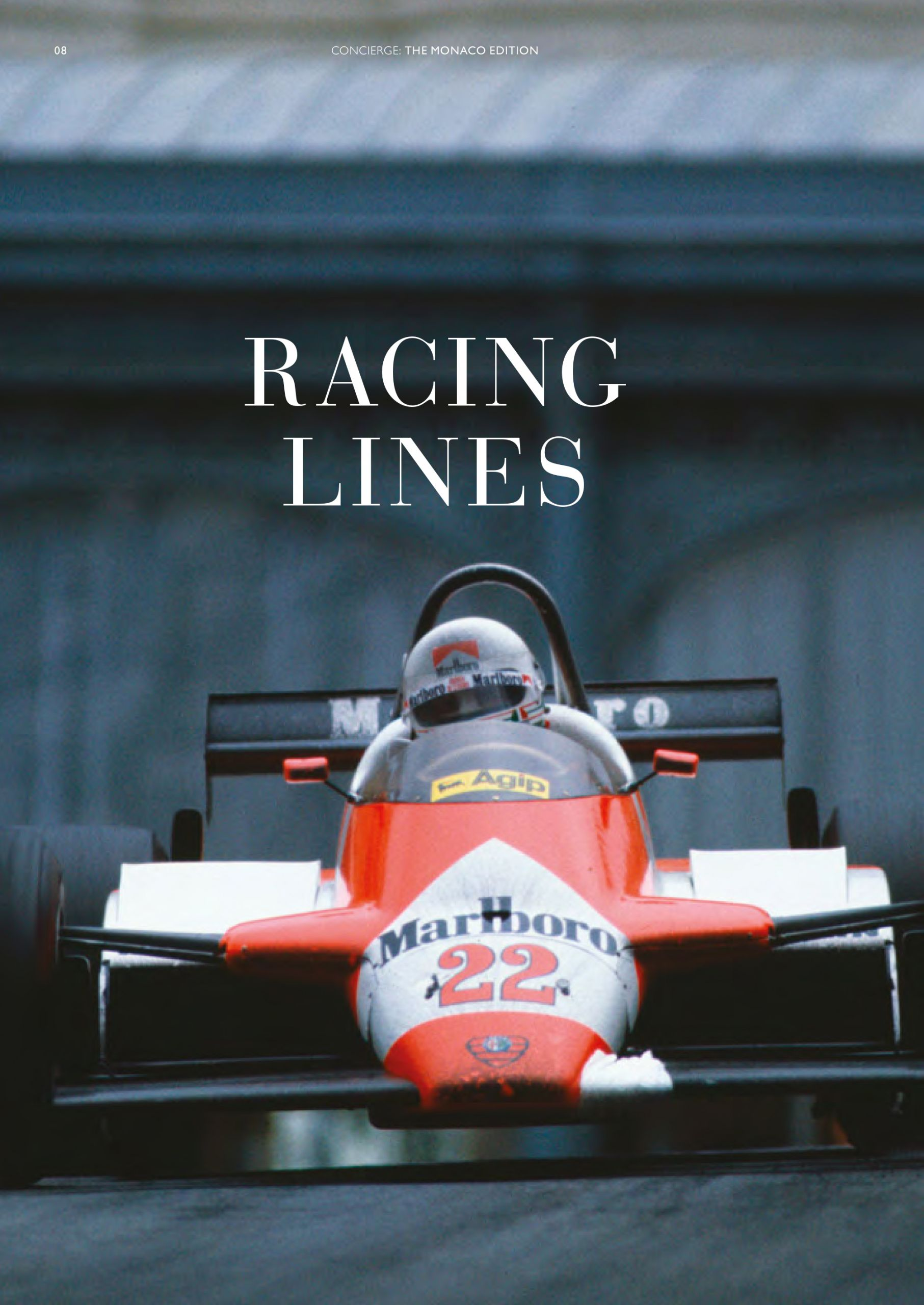 tom claeren interview concierge magazine formula one MOnaco