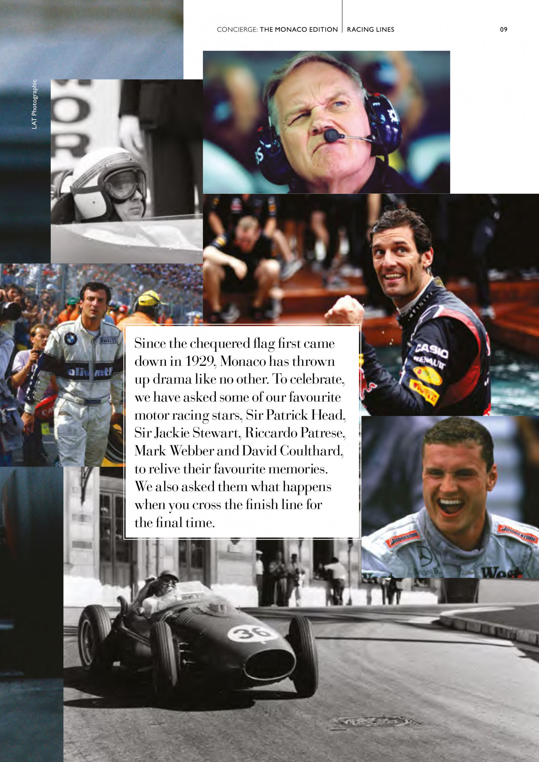 tom claeren interview concierge magazine Monaco gp