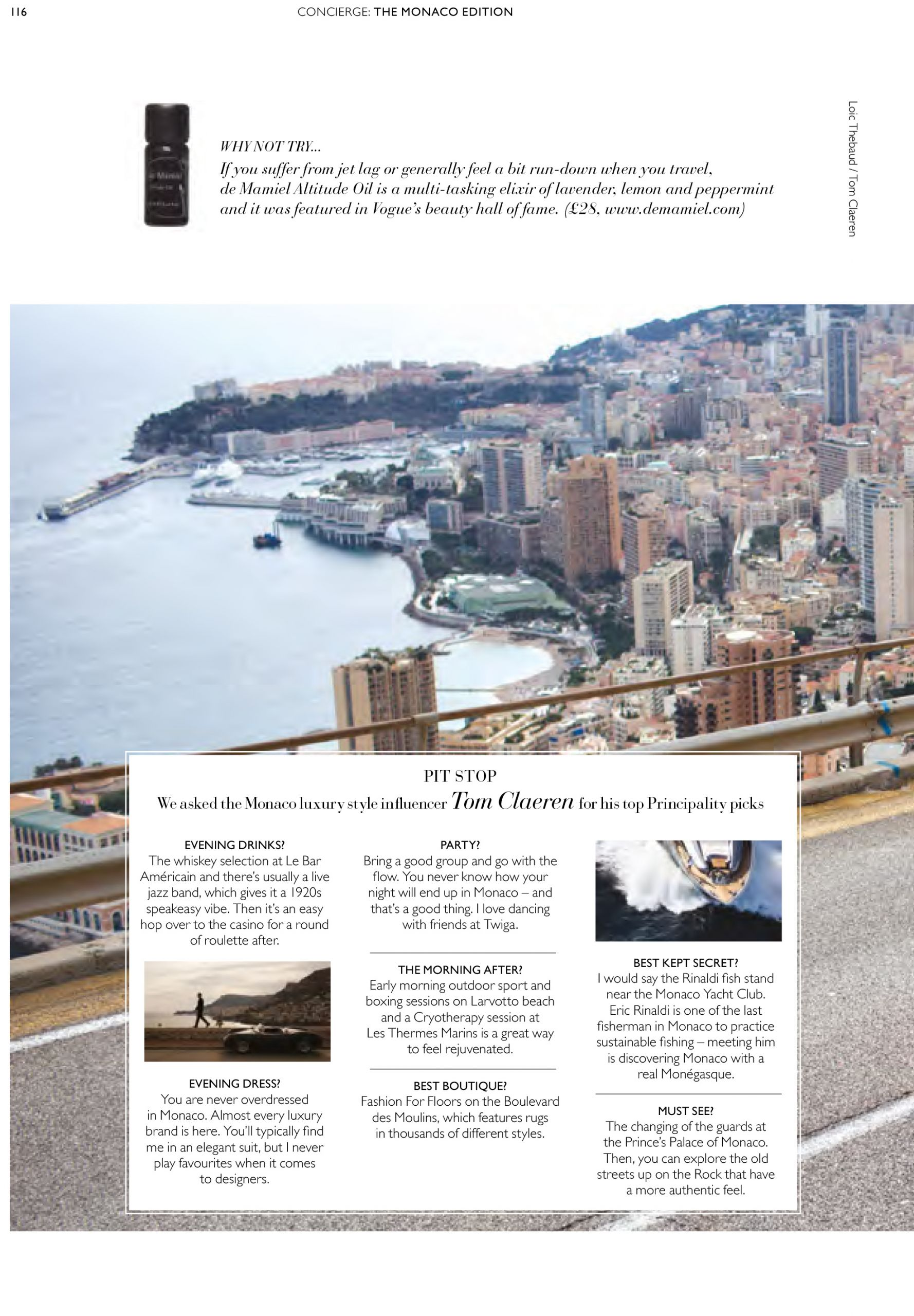 tom claeren interview concierge magazine