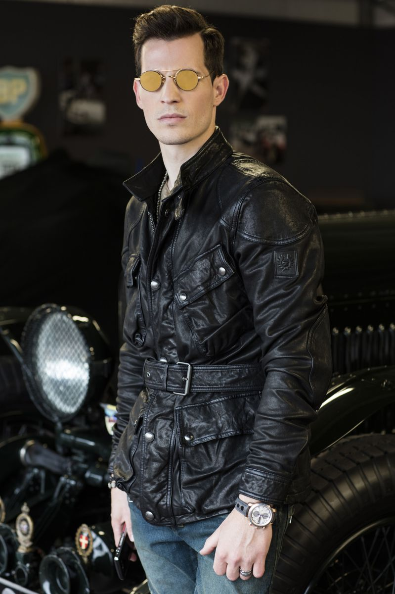 Tom Claeren Thom Browne Belstaff fashion