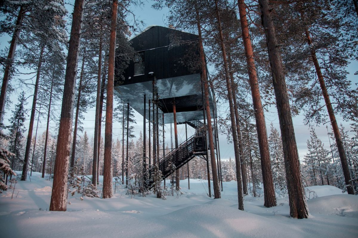 treehotel sweden luxury hotel travel